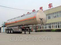 Xingshi SLS9401GYYA aluminium oil tank trailer