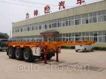 醒狮牌SLS9401TJZ型集装箱运输半挂车