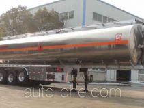 醒狮牌SLS9402GYYA型铝合金运油半挂车
