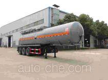 醒狮牌SLS9403GFW型腐蚀性物品罐式运输半挂车