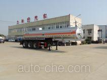 醒狮牌SLS9405GFW型腐蚀性物品罐式运输半挂车