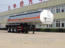 醒狮牌SLS9405GFWA型腐蚀性物品罐式运输半挂车