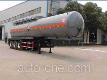 醒狮牌SLS9406GFW型腐蚀性物品罐式运输半挂车