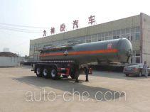 醒狮牌SLS9405GFWB型腐蚀性物品罐式运输半挂车
