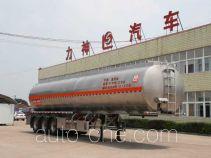 醒狮牌SLS9405GSY型铝合金食用油运输半挂车