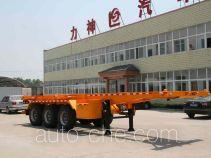 Xingshi SLS9405TWY dangerous goods tank container skeletal trailer