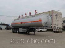 醒狮牌SLS9407GHY型化工液体运输半挂车