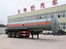 醒狮牌SLS9407GHYA型化工液体运输半挂车