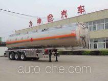 醒狮牌SLS9407GYYB型铝合金运油半挂车