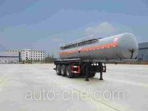 醒狮牌SLS9409GHY型化工液体运输半挂车