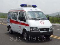 圣路牌SLT5031XJHE1W型救护车