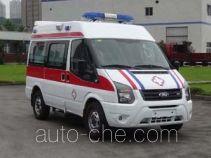 圣路牌SLT5040XJHE1W型救护车