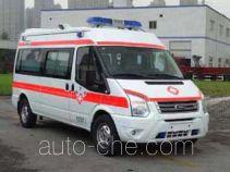 圣路牌SLT5041XJHE1W型救护车