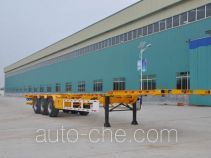 Liangyun SLY9381TJZED container transport trailer