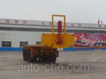 Liangyun SLY9400ZZXP flatbed dump trailer