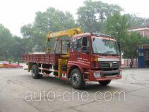 石煤牌SMJ5160JSQBC4型随车起重运输车
