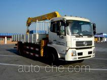 石煤牌SMJ5161JSQDC4型随车起重运输车