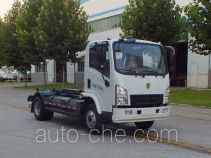 Senyuan (Henan) electric hooklift hoist garbage truck