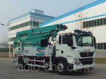 森源牌SMQ5202THB型混凝土泵车