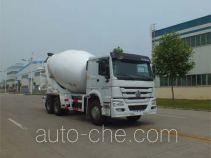 森源牌SMQ5250GJBZ43型混凝土搅拌运输车