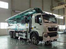 森源牌SMQ5340THB型混凝土泵车