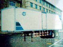 雄风牌SP9160XXY型厢式运输半挂车