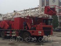 Shengdong SPM5360TXJ well-workover rig truck