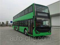 广通客车牌SQ6131BEVST3型纯电动双层城市客车
