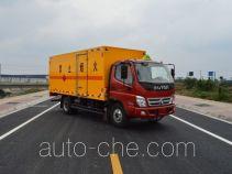 Qinhong SQH5120XRQ flammable gas transport van truck