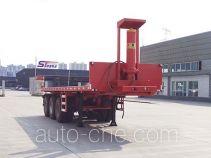 Qinhong SQH9403ZZXP flatbed dump trailer
