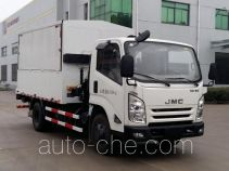Sanhuan SQN5080XTY sealed garbage container truck