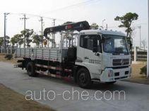 三环牌SQN5140JSQ型随车起重运输车
