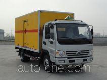 开瑞牌SQR5070XRQH29D型易燃气体厢式运输车
