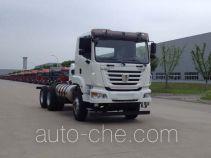 集瑞联合牌SQR5252GJBN6T4-E1型混凝土搅拌运输车底盘