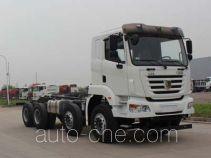集瑞联合牌SQR5311GJBD6T6-E3型混凝土搅拌运输车底盘
