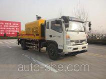 时风牌SSF5110THB型车载式混凝土泵车