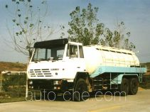 Chemical liquid supply tank truck