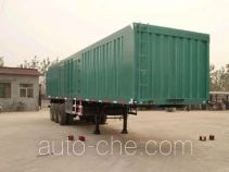 Kaishicheng SSX9320XXY box body van trailer