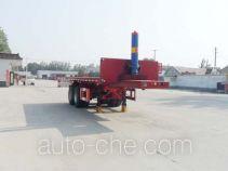 Kaishicheng SSX9350ZZXP flatbed dump trailer