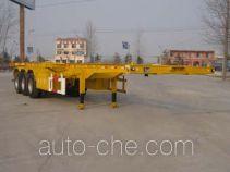 凯事成牌SSX9400TJZG型集装箱运输半挂车