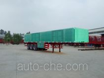 Kaishicheng box body van trailer
