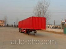 Kaishicheng SSX9407XXY box body van trailer