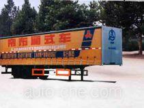 鲁峰牌ST9270XA型厢式运输半挂车