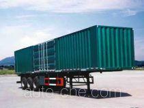 鲁峰牌ST9320X型厢式运输半挂车