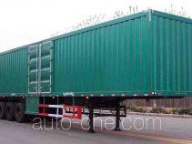 鲁峰牌ST9405X型厢式运输半挂车
