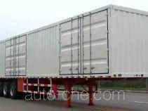 鲁峰牌ST9409XXY型厢式运输半挂车