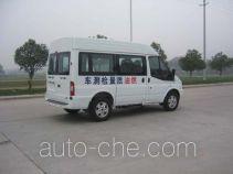 Fuel quality testing vehicle