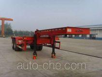 大翔牌STM9351TJZG型集装箱运输半挂车