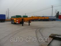 Daxiang STM9400TWY dangerous goods tank container skeletal trailer