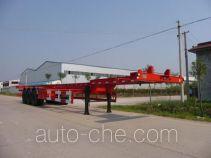 大翔牌STM9402TJZG型集装箱运输半挂车